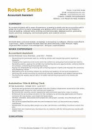 Accountant Assistant Resume Samples QwikResume Classy Accounting Assistant Resume