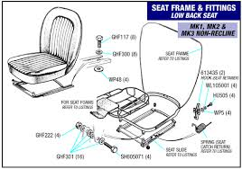 triumph spitfire low back seats and fittings mk mk mk at triumph spitfire low back seats and fittings mk1 mk2 mk3