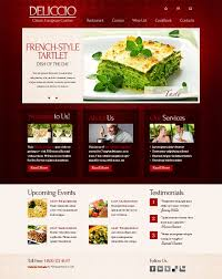 Restaurant Website Templates Enchanting Restaurant Web Templates Goalgoodwinmetalsco