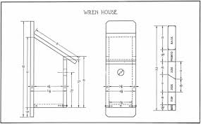 wren bird house plans. Free Birdhouse Blueprints Wren Bird House Plans