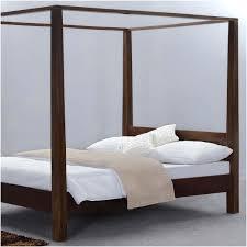 Modern Rustic Philadelphia Solid Wood Platform Canopy Bed