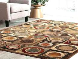rubber backed area rugs 8x10 geometric brown rubber backed area rugs the home depot rug x