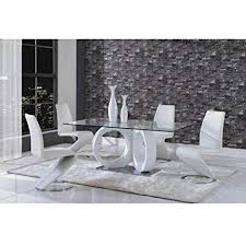 global furniture dining table white