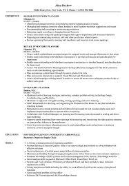 Inventory Planner Resume Samples Velvet Jobs