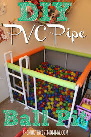 DIY PVC Pipe Ball Pit. Toddler PlayroomToddler Boy ToysKids ...
