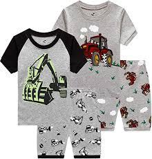 Little <b>Boys Pajamas</b> Cotton Clothes Gift <b>Children Sleepwear Kids</b> ...