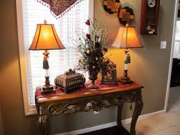 Decorating Console Table Ideas Stunning Entryway Table Decorating Ideas Gallery Design And