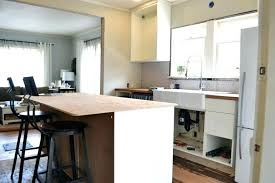 kitchen island kitchen island overhang stunning for home improvement adding column supports to counter overhang plus