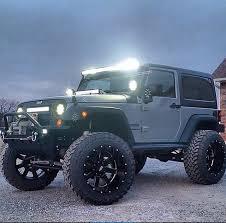 modified personalized 2 door jeep jk