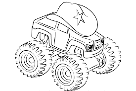 the monster machines coloring pages