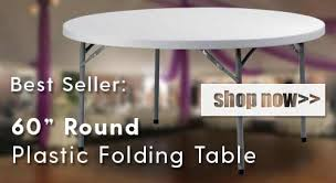 best er 60 inch round plastic folding table featured zown heavy duty