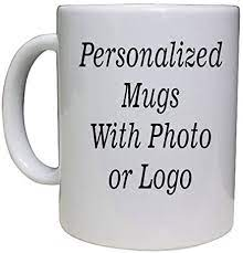 Create a coffee mug that includes a personal message, a name, monogram or your favorite photos. Amazon Com Personalized Coffee Mug 11oz With Add Pictures Logo Or Text Kitchen Dining