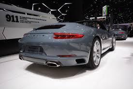 Frankfurt 2015: Porsche 911 Carrera and Carrera S - GTspirit