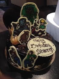 Chocolate Cake With Hazelnut Filling For My Husbands Birthday I