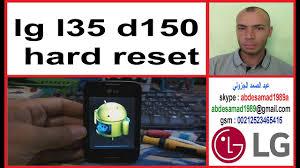 lg l35 d150 hard reset - YouTube