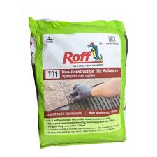 pidilite roff tile adhesive packaging type sack bag