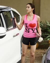 Sara Ali Khan Workout Routine Diet Plan Workoutinfoguru