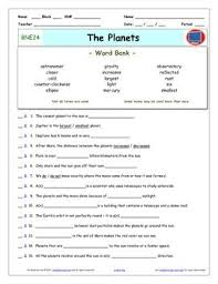 bill nye planets worksheet answer sheet and two quizzes for bill nye the science g