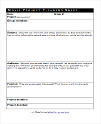 9+ Project Sheet Templates - Free Samples, Examples Format Download ...