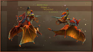 dota2 feral the were bat for batrider by anuxinamoon on deviantart