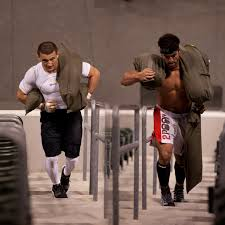austin malleolo and rich froning jr at the 2010 crossfit games