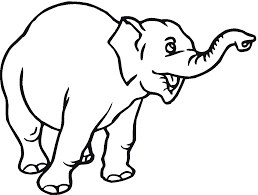 Cartoon Elephants Drawing At Getdrawingscom Free For Personal Use