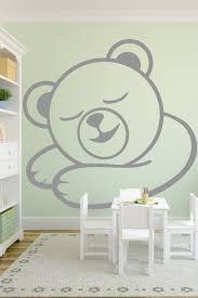 majestic design ideas baby wall art decals sleepy bear walltat com without boundaries alternative views stickers for nursery nz