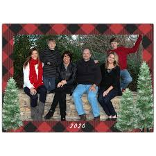 Christmas is the time to be jolly, and there's nothing jollier than unsplash's collection of christmas images. Red Buffalo Plaid Truck Christmas Photo Cards Paperstyle