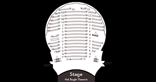 Chandler Performing Arts Center Seating Chart Hal Bogle Theatre Seating Chandler Center For The Arts