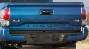 Amazon.com: Toyota Tacoma 2016 2017 2018 Piano Black Tailgate ...
