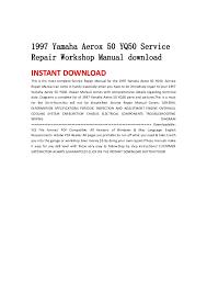 1997 yamaha aerox 50 yq50 service repair workshop manual download yamaha aerox 155 manual pdf at Yamaha Aerox Yq 50 Wiring Diagram