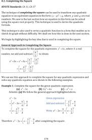 entrancing solving quadratic equations by factoring glencoe amusing quadratic equation transformations jennarocca complete the square worksheet kuta p