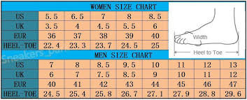 Womens And Mens Shoe Chart 2019 High Quality Unisex Shoes 1 Low Men And Women Casual Shoes Size 36 45 Mens Shoes Loafers From Fashion1220 0 02 Dhgate Com