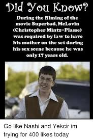The Movie Superbad During You Know Did Of Filming Mclovin tSpqwnT1