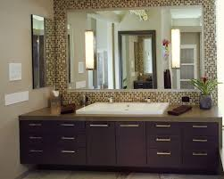 framed bathroom mirrors. Collection In Bathroom Mirror Frame Ideas Pertaining To Interior Design Concept With Framed Mirrors Digihome