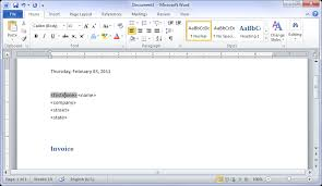 microsoft word temlates creating mail merge templates in ms word 2010