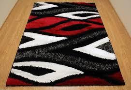 black and red area rugs grey contemporary rug designs room modern big dark cream brown green