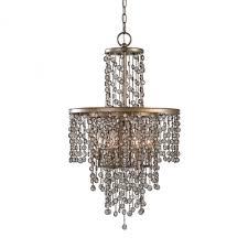 uttermost valka 6 light crystal chandelier