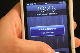 Teen addicted to text messaging
