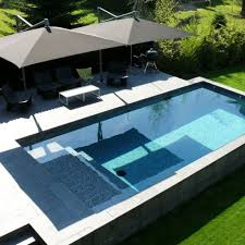 Chocolate Brown Umbrellas And Best Rectangular Above Ground Pools