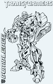 Free Transformer Coloring Pages Free Bumblebee Transformer Coloring