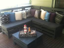 Backyard Retreat On This Pallets Sofa