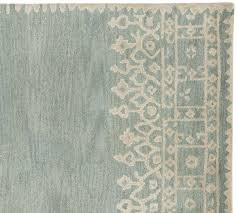 mainstream pottery barn blue rug desa au