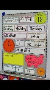 Date Chart For Classroom Fun Morning Circle Chart Math In Focus Daily Math