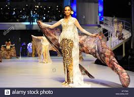 Designer Anne Avantie Jakarta Indonesia 3rd Sep 2014 A Model Presents A