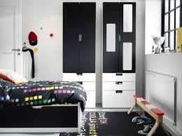 Ikea Boys Room pokj dla dzieci z czarnobiaym miejscem do przechowywania stuva 4276 by uwakikaiketsu.us
