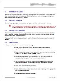 Cost Proposal Templates Pricing Proposal Template onepiece 6