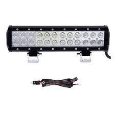 72w led light bar 12inch 72w cree offroads led work light bar flood spot combo wiring harness