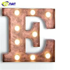 metal letters cafe logo wall light letters e wall lamps metal letters light vintage art lamp metal letters