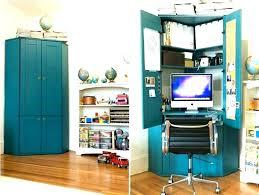 corner computer armoire corner computer computer desk cabinet white corner with ikea alve corner computer armoire